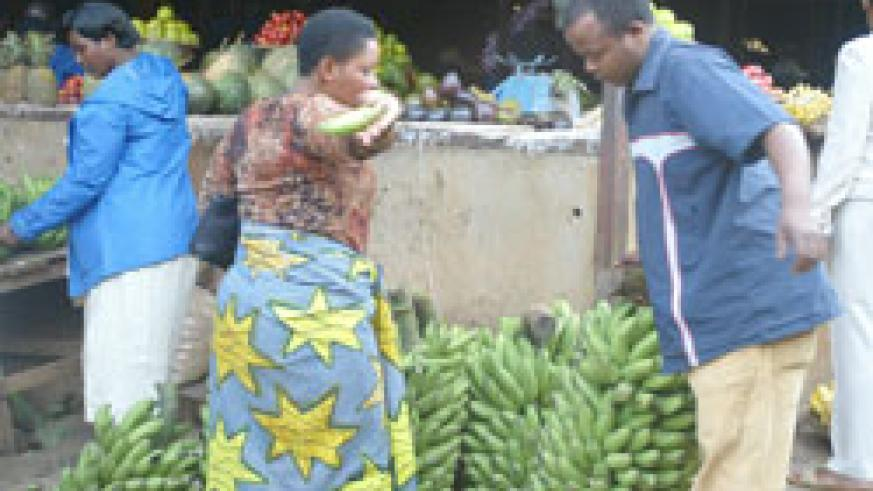 Dealers in agricultural produce have benefitted from the e-Soko application (File Photo).