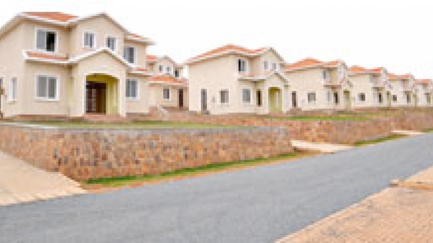 A housing estate in Kigali. The National Housing Authority has urged local leaders to support the planning policy (File Photo).