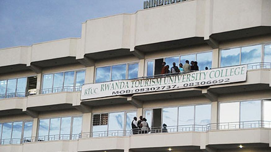 RTUC main campus at its present rented premises in Kigali. The Institute will soon have its own premises (Photo T Kisambira)