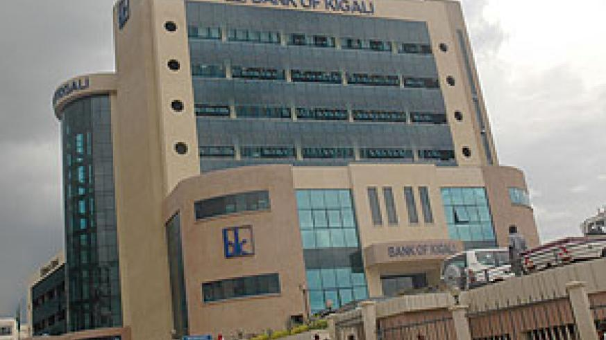 Bank of Kigali is bullish about its profits (File poto)
