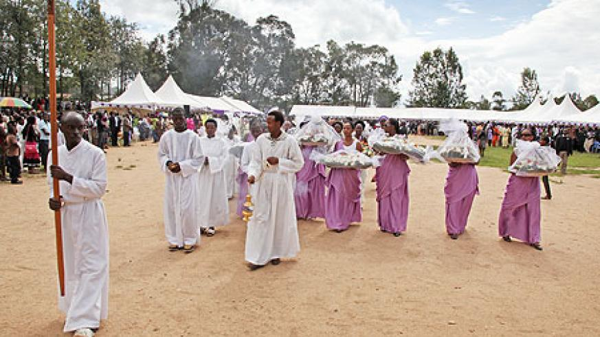 Survivors of Gatagara and the centre for the handicapped remember the gruesome killings of 1994 (Photo T. Kisambira)