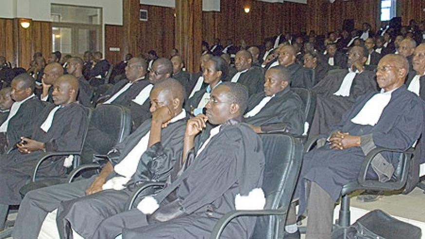ILDP has trained over 200 in the contracts law. The programme aims at streamlining activities of legal practitioners in the country (File Photo)