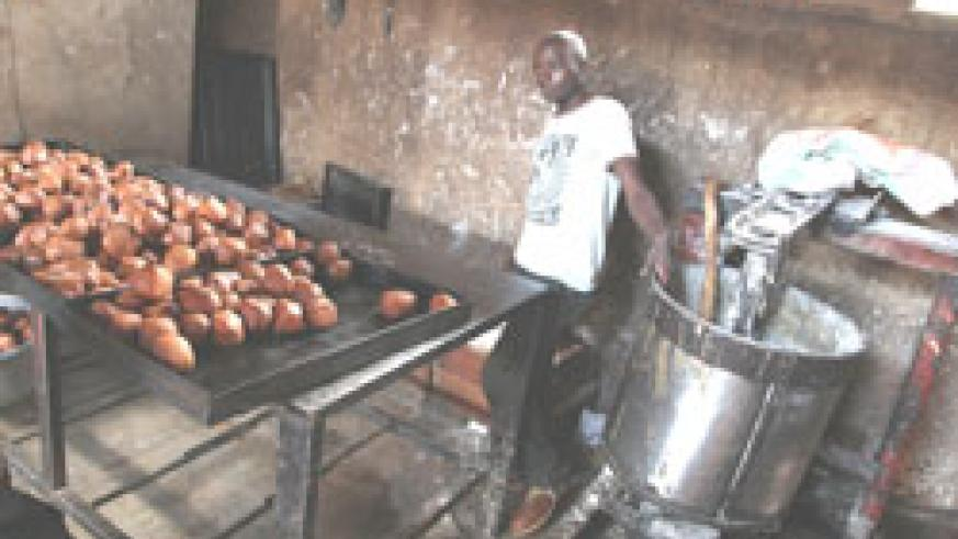 The state of the closed bakery (Photo/T.Kisambira)