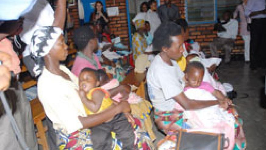 Without proper family planning, parents cannot manage to have services like health accessed by their children (File Photo).