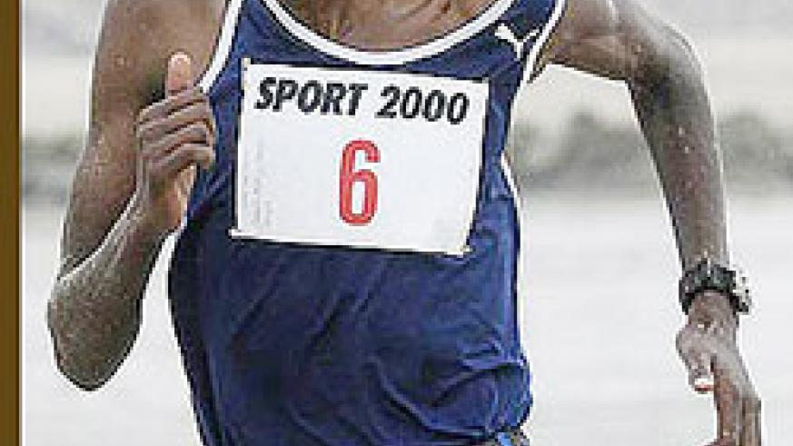 Gervais Hakizimana is desperate to run in the All Africa Games