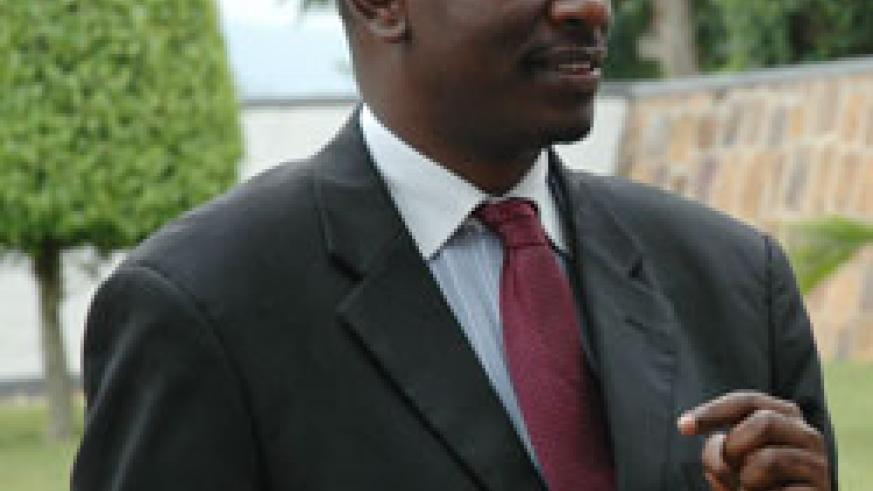 East African Community Secretary General Dr Richard Sezibera received  credentials from the Chinese envoy (File Photo)