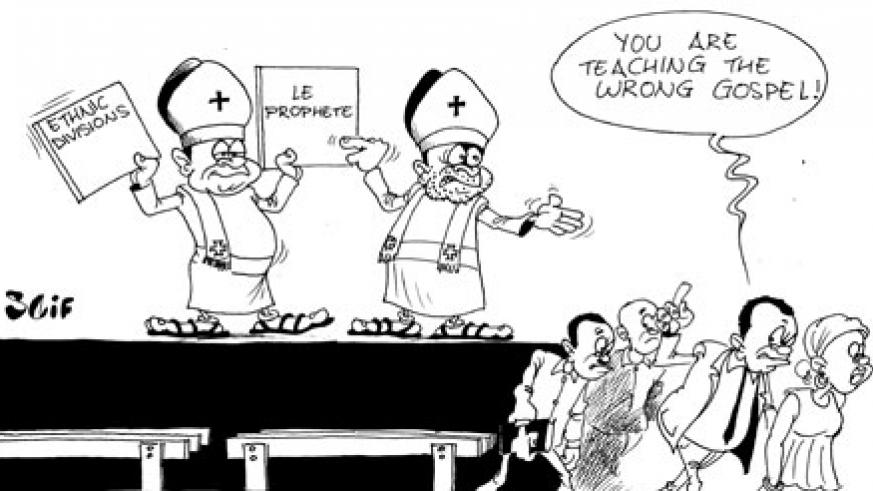 "Residents of the districts of Rusizi and Nyamasheke have castigated Catholic priests; Thomas Nahimana and Fortunatus Rudakemwa over their divisive remarks published recently on their website, ""Leprophete."""
