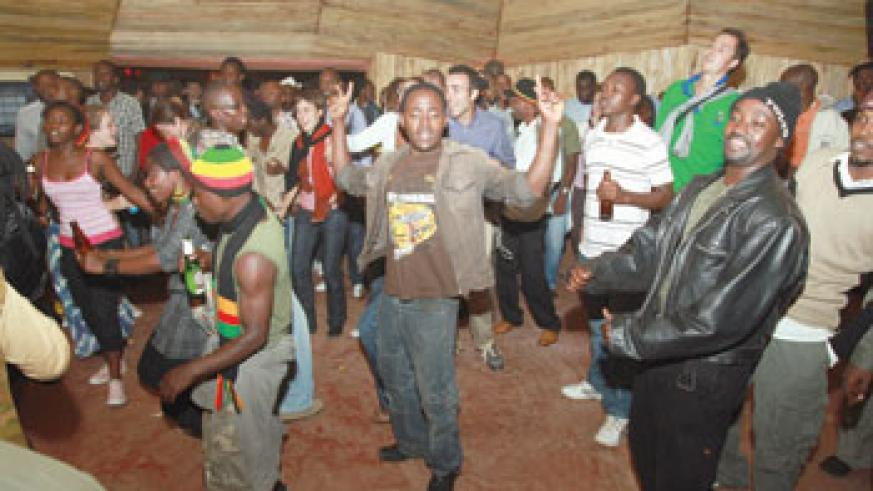 Jah Rastafarian! Music fans enjoyed the performances and danced all the way until dawn.