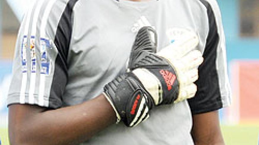 MAKING GOOD RECOVERY: Junior Wasps first choice goalkeeper Marcel Nzarora. (File photo)