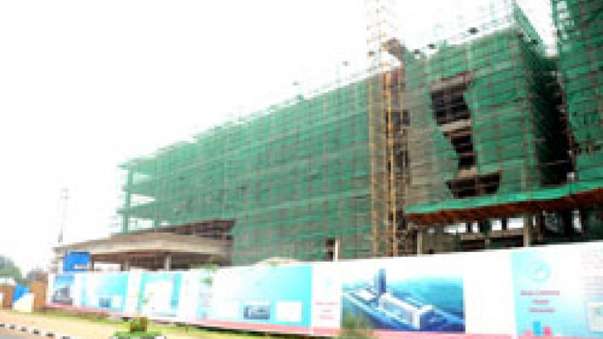 The new Marriot Hotel under construction in Kigali. The acquisition of documents by real estate developers has been eased (File Photo).