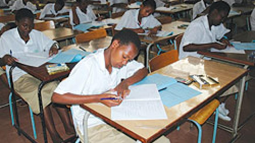 Students sit for their final exams. The national exam council has finally released the admission list to public universities (File Photo).