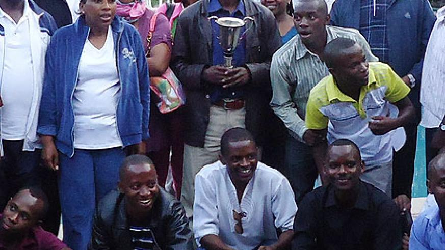 Ambassador Joseph Nsegimana (far right) with some of the participatants during the Family Day celebration in Ethiopia (Courtesy Photo).