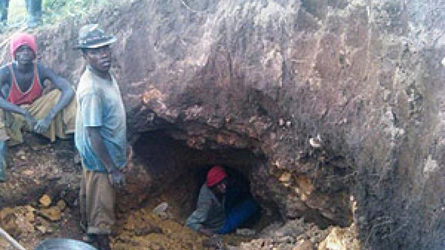 Two people in Karongi District were killed after a quarry disaster  (Photo S Nkurunziza)