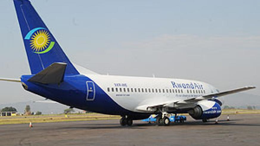 Rwandair launches second Kamembe-Kigali flight (File Photo).