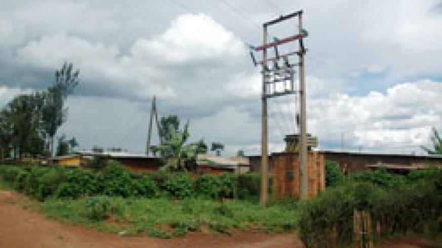 Rural Electrification infrastructure.