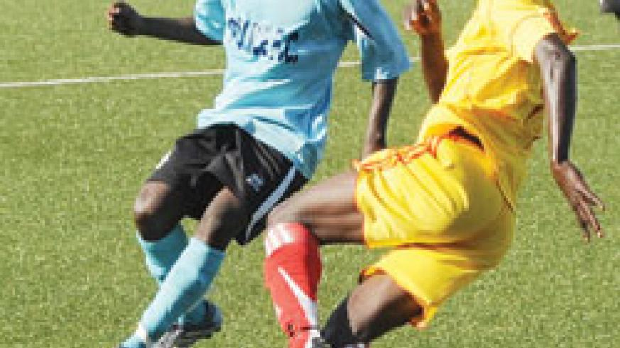 Etincelles (in yellow) thrashed Police 7-1 early this month. (File photo)