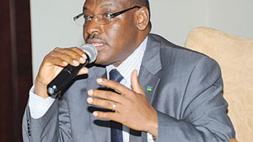 New Central Bank Governor Clever Gatete.