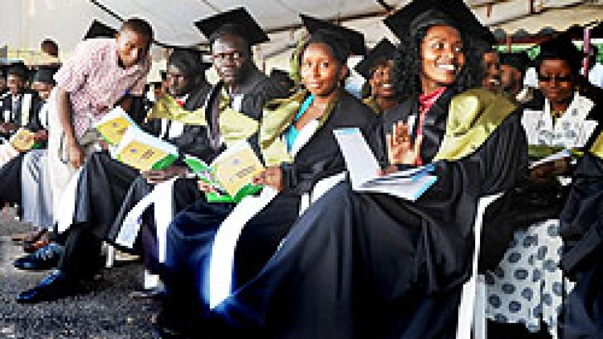 Graduands believe job centres would facilitate the search for employment. (File Photo)
