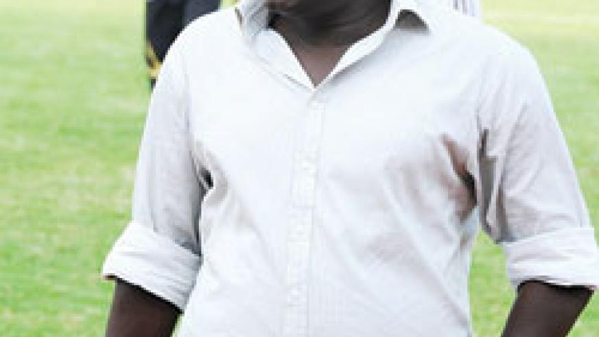Amavubi head coach Sellas Tetteh