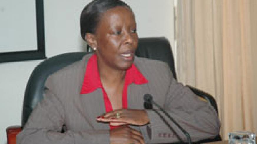 ISSUED STATEMENT; Government Spokesperson and Foreign Affairs Minister Louise Mushikiwabo (File Photo)
