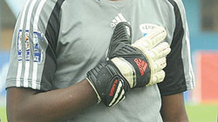 Junior Wasps goalkeeper Nzarora is expected to play today. (File Photo)