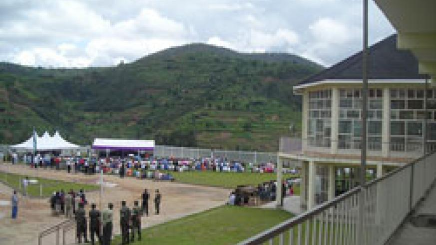 Over 50,000 victims of the 1994 Genocide are buried at the Murambi Genocide Memorial site. (File photo)