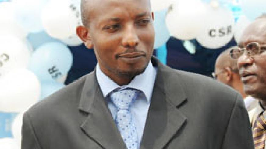the Director General of SSFR, Afrique Ramba