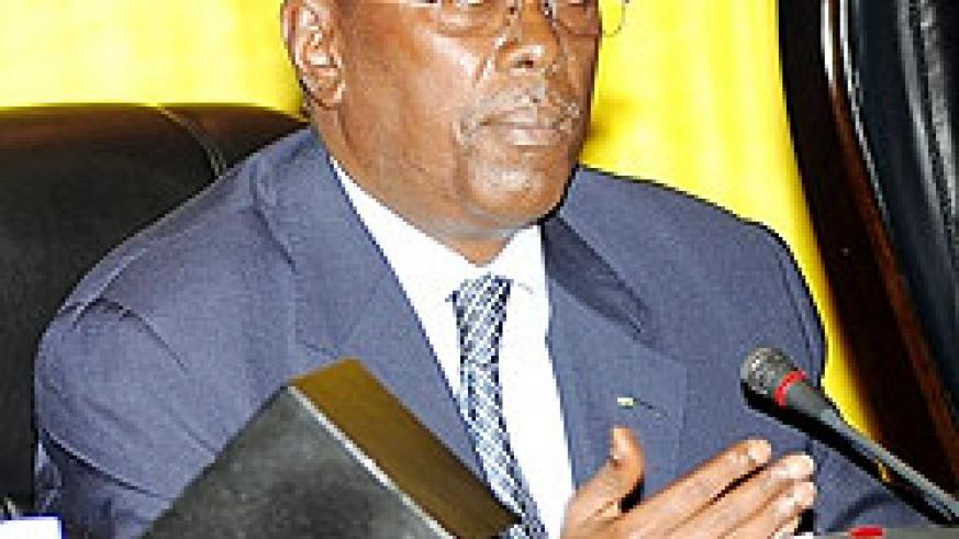 Prime Minister Bernard Makuza (File photo)