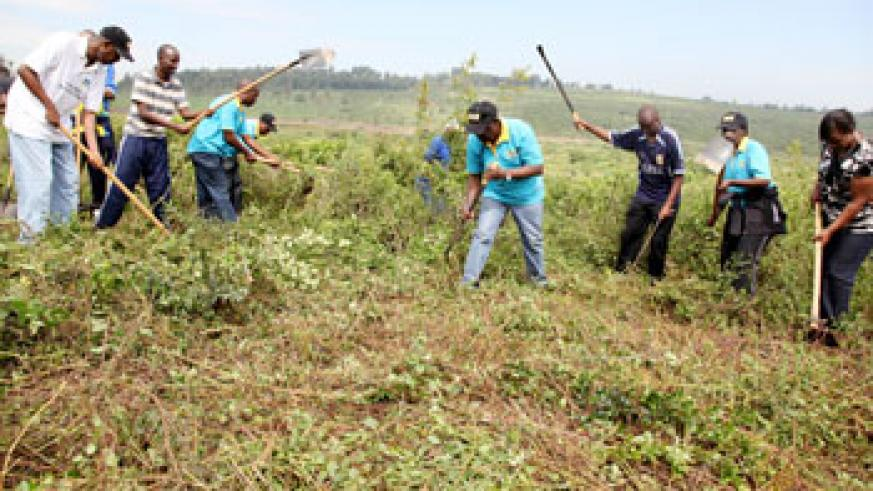 Umuganda has made Kigali one of the cleanest cities in the  World (File Photo)