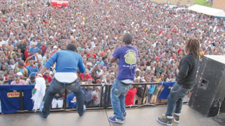 The show was well attended. (photos / L. Mbabazi)