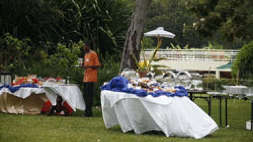 Waiters hold the key to the growth of the country's tourism industry (File photo)