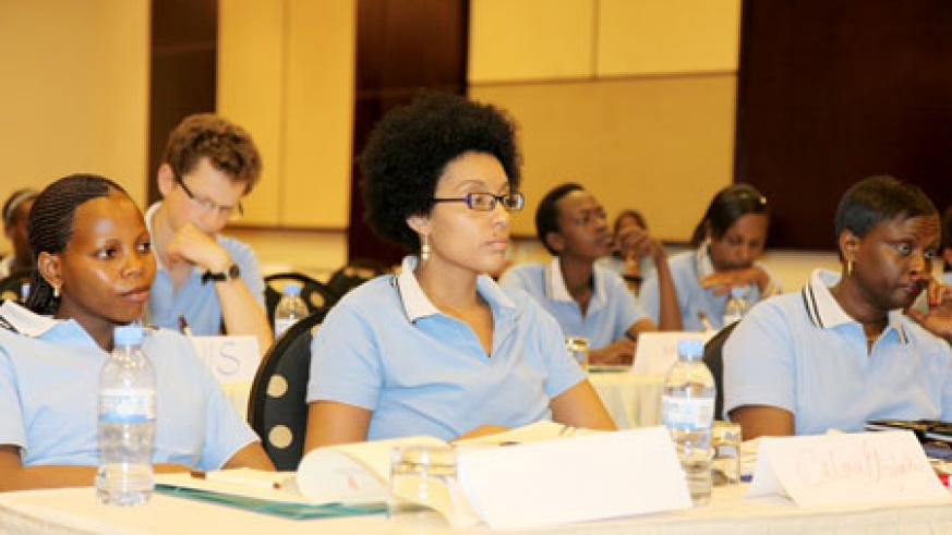 Youth from accross the continent attended the conference. (Photo T Kisambira)