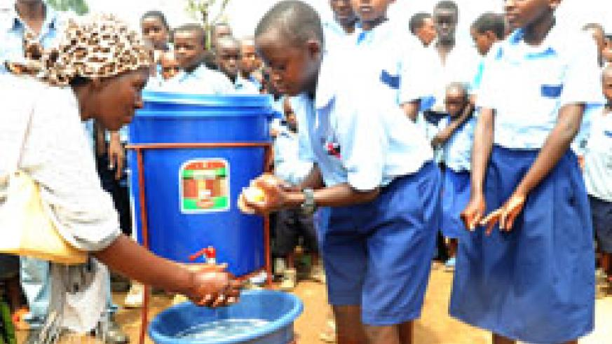 Rwanda's drive to promote hygiene made it a suitable host of the continental sanitation meeting (File Photo)