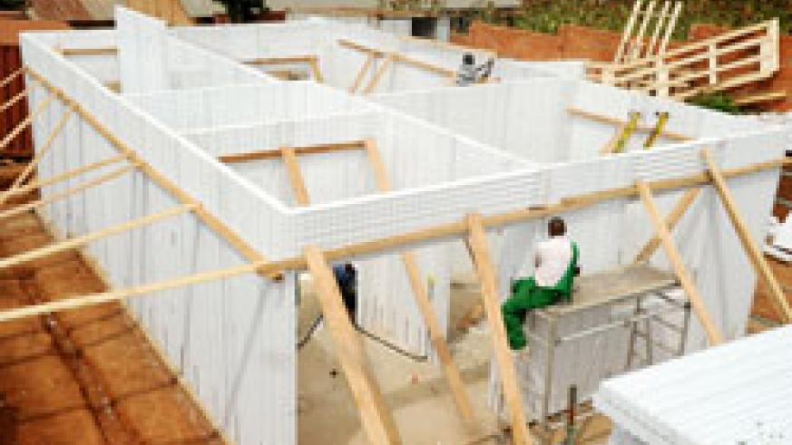 The Italian firm Schnell House has introduced innovative housing construction technology to facilitate home ownership among low income earners. (Photo J Mbanda)