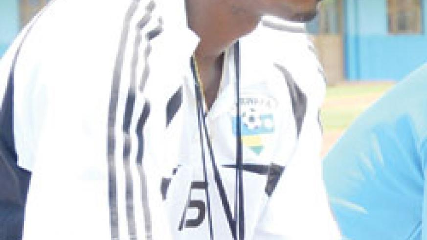 Nshimiyimana is still Tetteh's assistant. (File Photo)