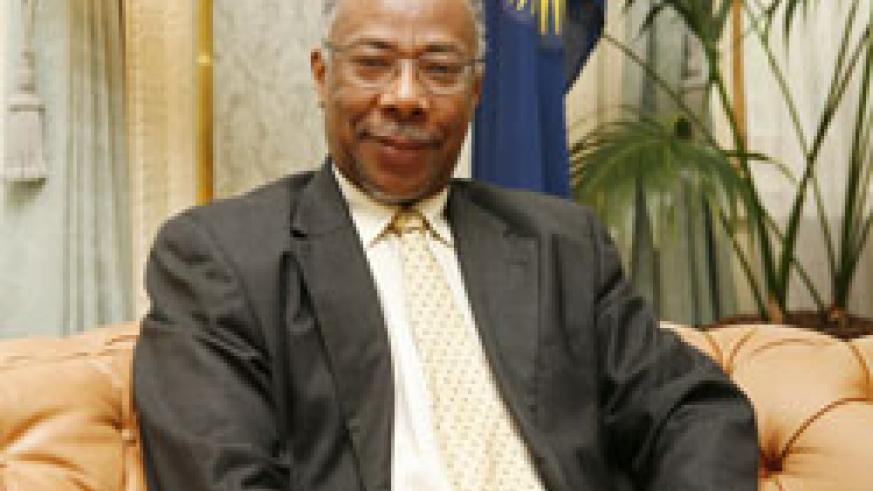 Smith Ransford, the Deputy Secretary General of the Commonwealth is in the country (Net photo)