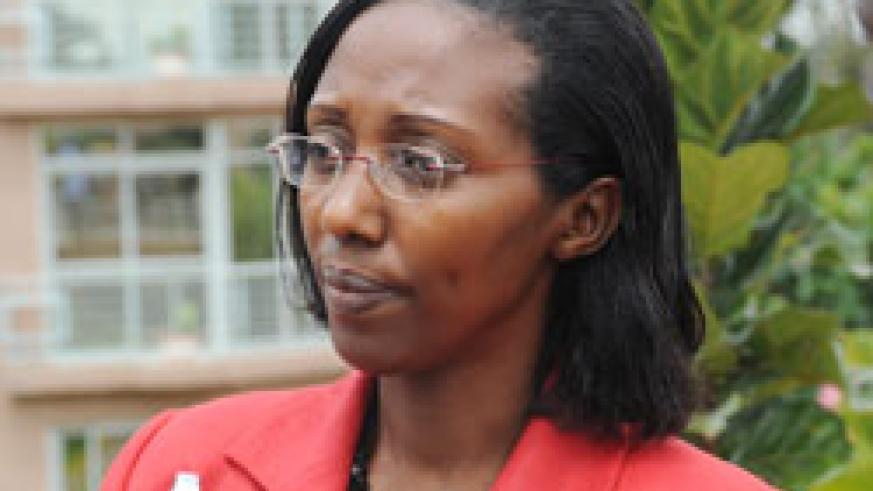 State Minister for Energy and Water, Coletha Ruhamya