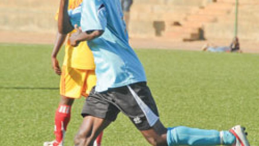 Kagere is set to win the Primus League Golden Boot award. (File photo)