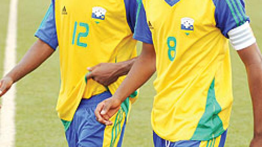 Justin Mico and Emery Bayisenge had a rough outing yesterday. (File Photo)