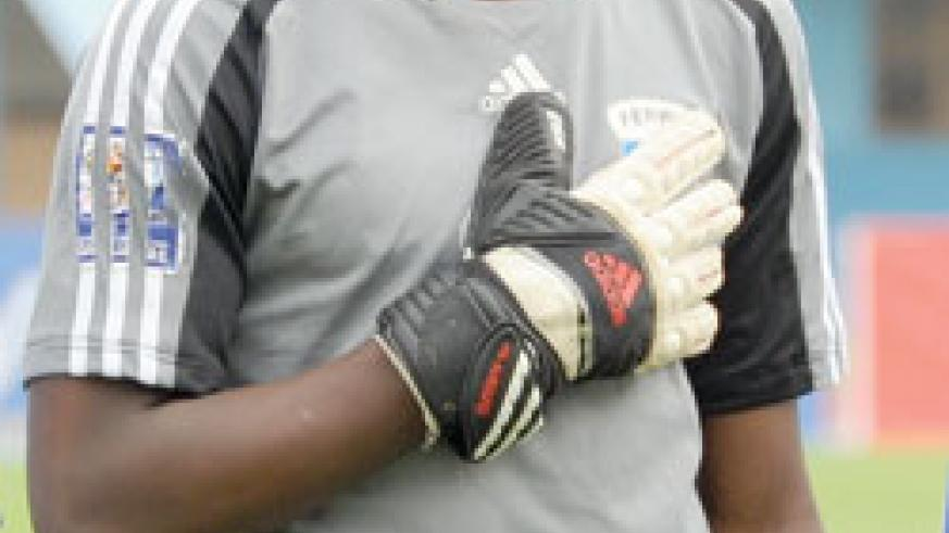 Junior Wasps goalkeeper Nzarora is one of the players to under-go the MRI test. (File Photo)