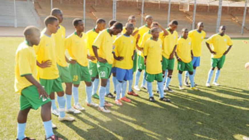 The U-17 team (File Photo)