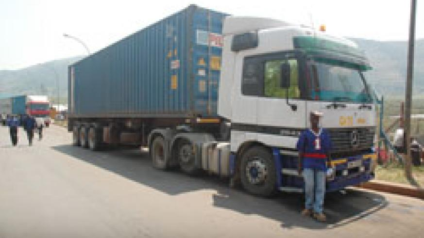 Transporters have complained of rampant non tarriff barriers along the central corridor (File Photo)