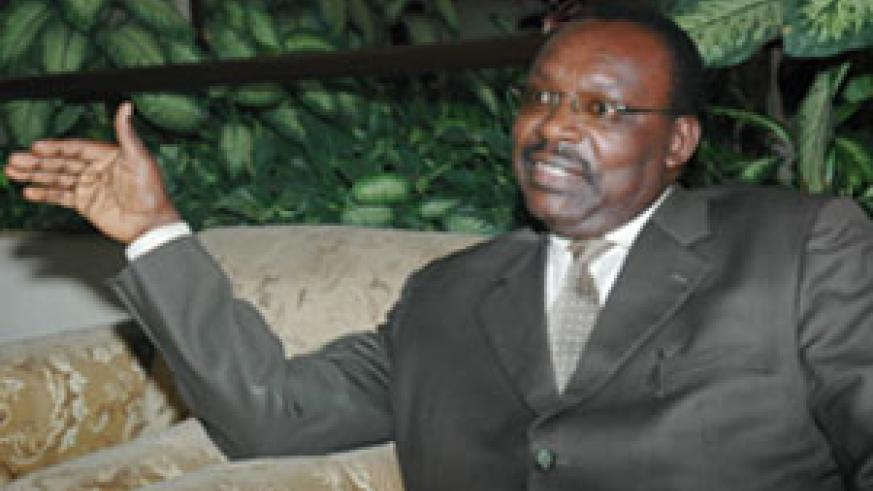 Trade and Industry minister Francois Kanimba (File photo)