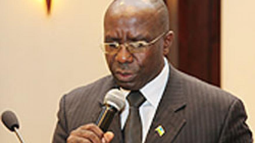 Minister of Education, Pierre Damien Habumuremyi