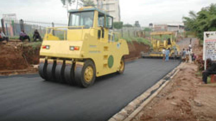 Road construction in Kigali City will be one of the key priorities for the City's 2011-12 budget (File Photo)