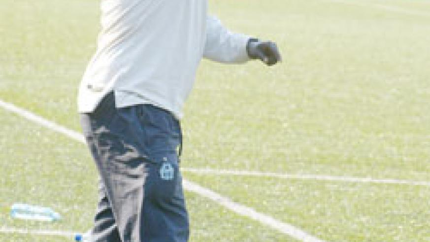 Ntagwabira wants Rayon to be active in the transfer window. (File Photo)