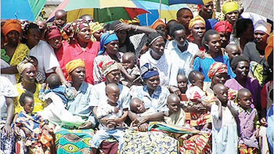 Rwanda is the most densely populated country in Africa.