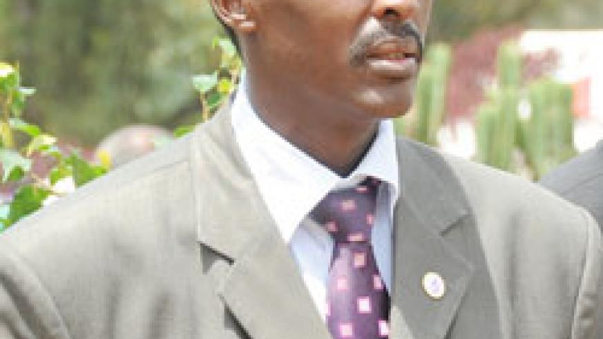 Executive Secretary of CNLG Jean de Dieu Mucyo