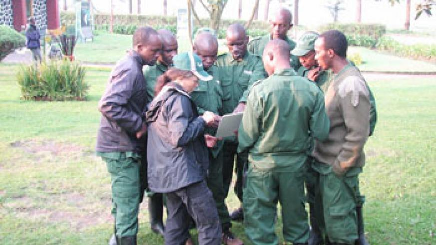 A group of guides at VNP. (Courtesy photo)
