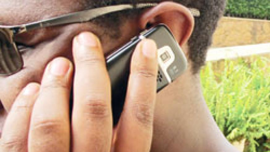 Number of phone users has dropped but RURA remains optimistic (File photo)